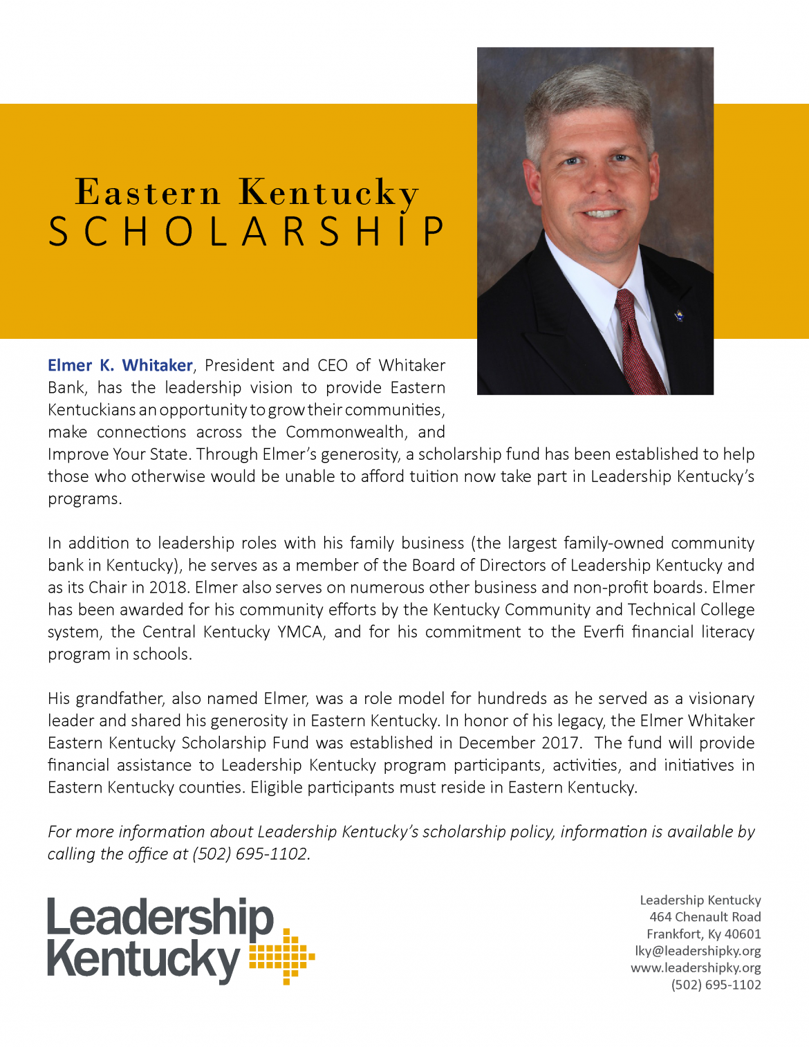 Eastern Kentucky Scholarship